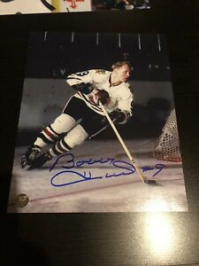 Chicago Blackhawks Bobby Hull  autographed picture