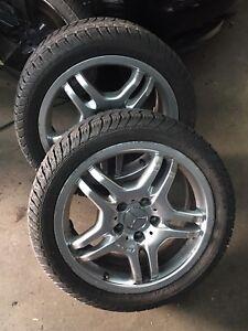 4 x Mercedes-AMG Rims w/ Tires