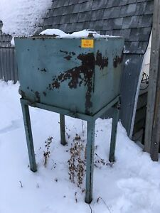 Oil / fuel tank on stand