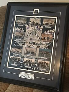 Toronto Maple Leafs signed print