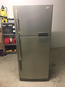 "LG 466L ""Stainless Steel"" Fridge in Excellent Condition Coomera Gold Coast North Preview"