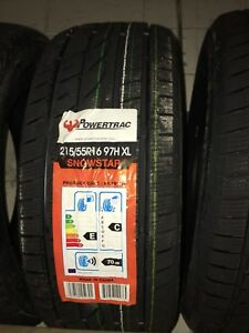 215 55 16 hiver  winter tires brand new neufs