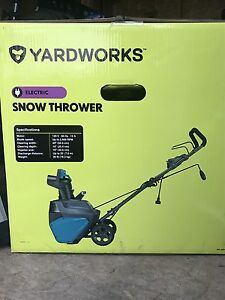 Selling electric snow thrower!