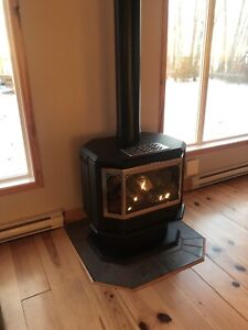 Gas/propane fire place