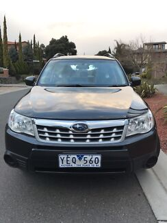 2011 Subaru Forester+7 months rego+RWC+low ks+new tyres+smooth engine