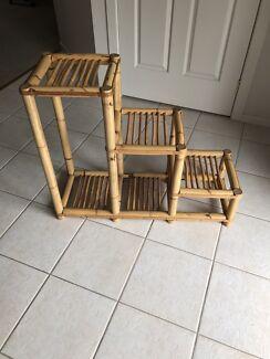 Bamboo Bookshelf/Stand