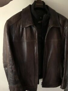 Danier leather jacket, men's