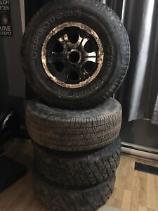 RIMS & TIRES  FOR SALE /ford/Chev / dodge