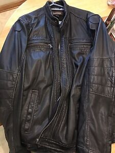 Lambskin Men's Dark Brown Leather Jacket XL
