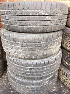 2008 Saturn Astra All Season Tires on Rims