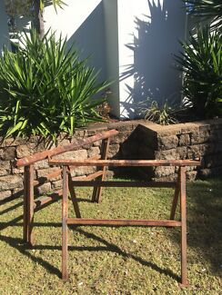 Metal saw horses/brickies tressels Helensvale Gold Coast North Preview