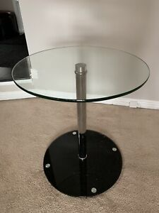 Beautiful Glass End Tables - Like New