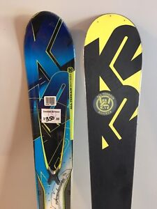 Used K2 skis with Marker MX20.0 bindings