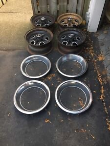Oldsmobile 15 x 7 rallye rims set of 4