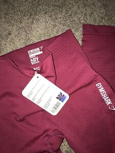 Gymshark Seamless in BEET size XS $50