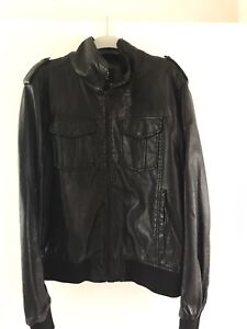 Men's XL Industrie Leather Jacket.
