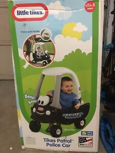 LITTLE TIKES POLICE PATROL COZY COUPE BRAND NEW IN BOX