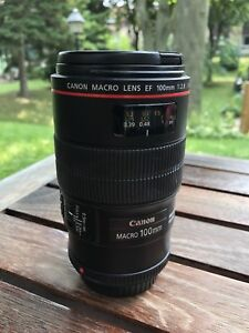 Canon 100mm 2.8 L Macro IS