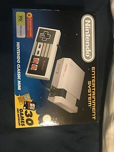 Mini Nes classic with two controllers Clayton Monash Area Preview