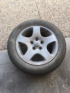 16 inch Audi rims with tires
