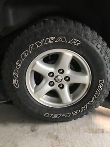 Jeep Rims Goodyear Wrangle