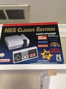 WANT TO TRADE NES Classic for Nintendo Switch