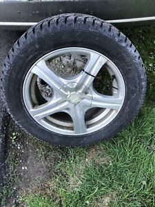 "16"" Hankook Winter Tires and Rims"