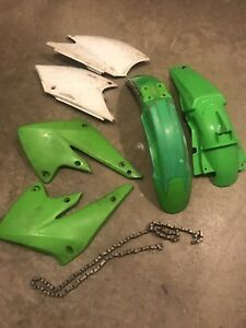Chain and fenders/fairings