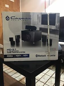 *BRAND NEW* Cayman Media Labs 5.1 Bluetooth System