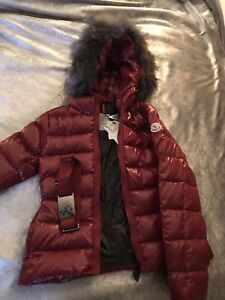 ***price is firm*** New Moncler  XXS ladies/KidsAngers Fox Fur