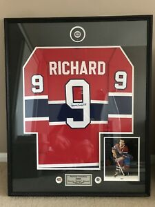 Maurice Richard Jersey and Pictures