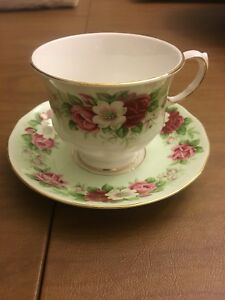 English Tea Cups and Saucers