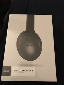Bose QC35 II noise cancelling wireless headphones