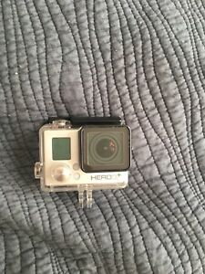 Go Pro Hero 3+ Silver with accesories