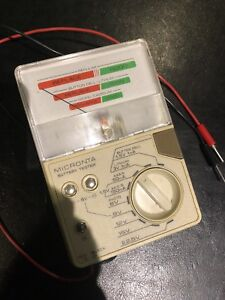 Micronta 22-032 Battery Tester.