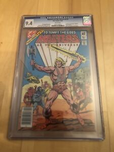 Masters of the universe! 1982 CGC 9.4!