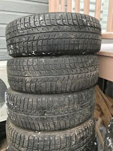 4 pneus hiver 205/60/16