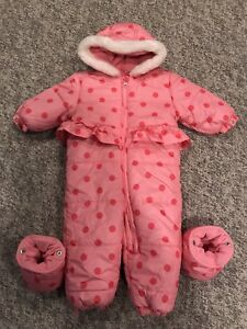 Used once! Winter jacket for baby. 12-18 months