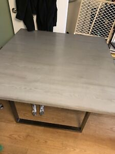 Table, chairs and bench great condition