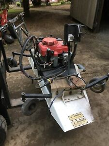 Atv front mount mower