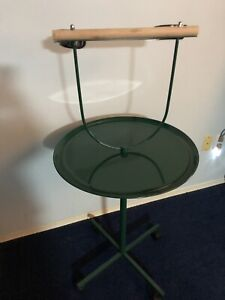 Parrot Stand On Wheels- New