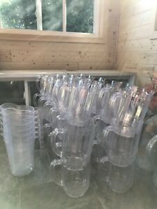 40 PLASTIC SERVING PITCHERS