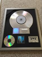 "3X Platinum RIAA  award Matchbox Twenty ""Mad Season""."