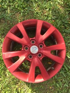 """4 mags 16"""" MAZDA3 ROUGE"""
