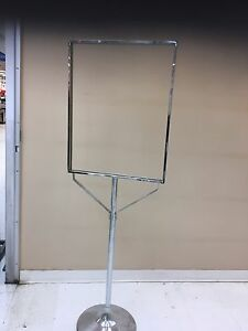 Steel display holder 2 for $75