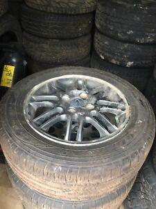 195 60R15 Goodyear Assurance & Ford Focus wheels