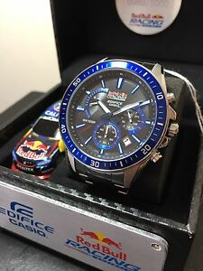 Casio Edifice RedBull V8 Racing LIMITED EDITION Watch (NEGOTIABLE) Maroubra Eastern Suburbs Preview