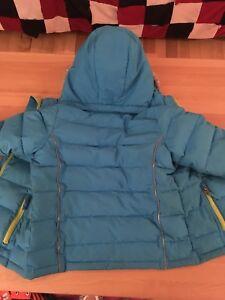 Crush winter jacket size 6 girl / manteau hiver Crush 6 ans