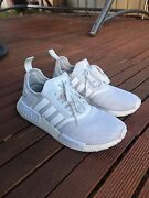 Adidas NMD Triple White Mesh US9 Melbourne CBD Melbourne City Preview