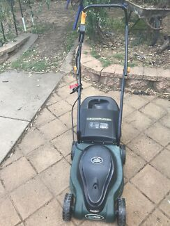 As new Ozito electricity lawnmower